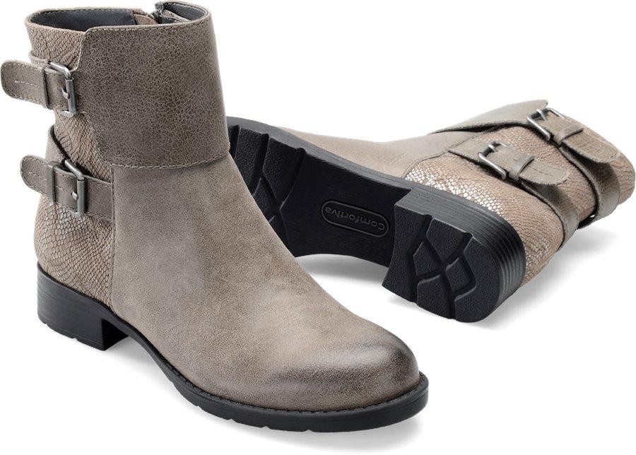 Comfortiva Vardel : Snare Grey/Grey - Womens