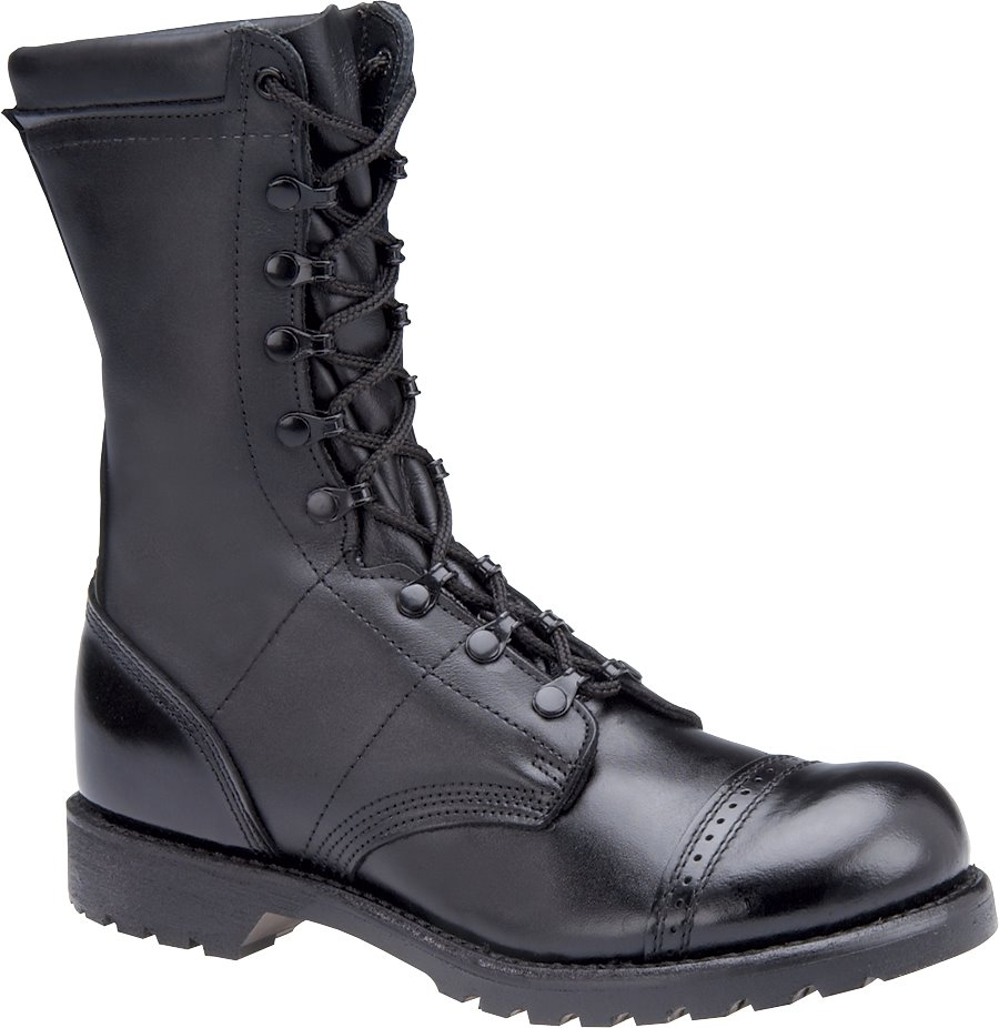 Corcoran 10 Inch Field Boot : Black - Mens
