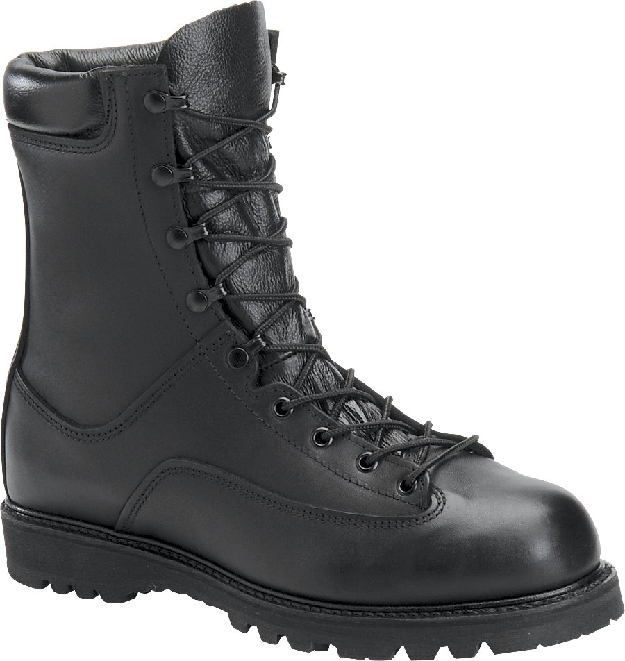Corcoran 8 Inch Field Boot : Black - Womens