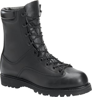 Black Corcoran 8 Inch Waterproof Boot