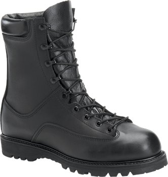 Black Corcoran 8 Inch Waterproof Boot