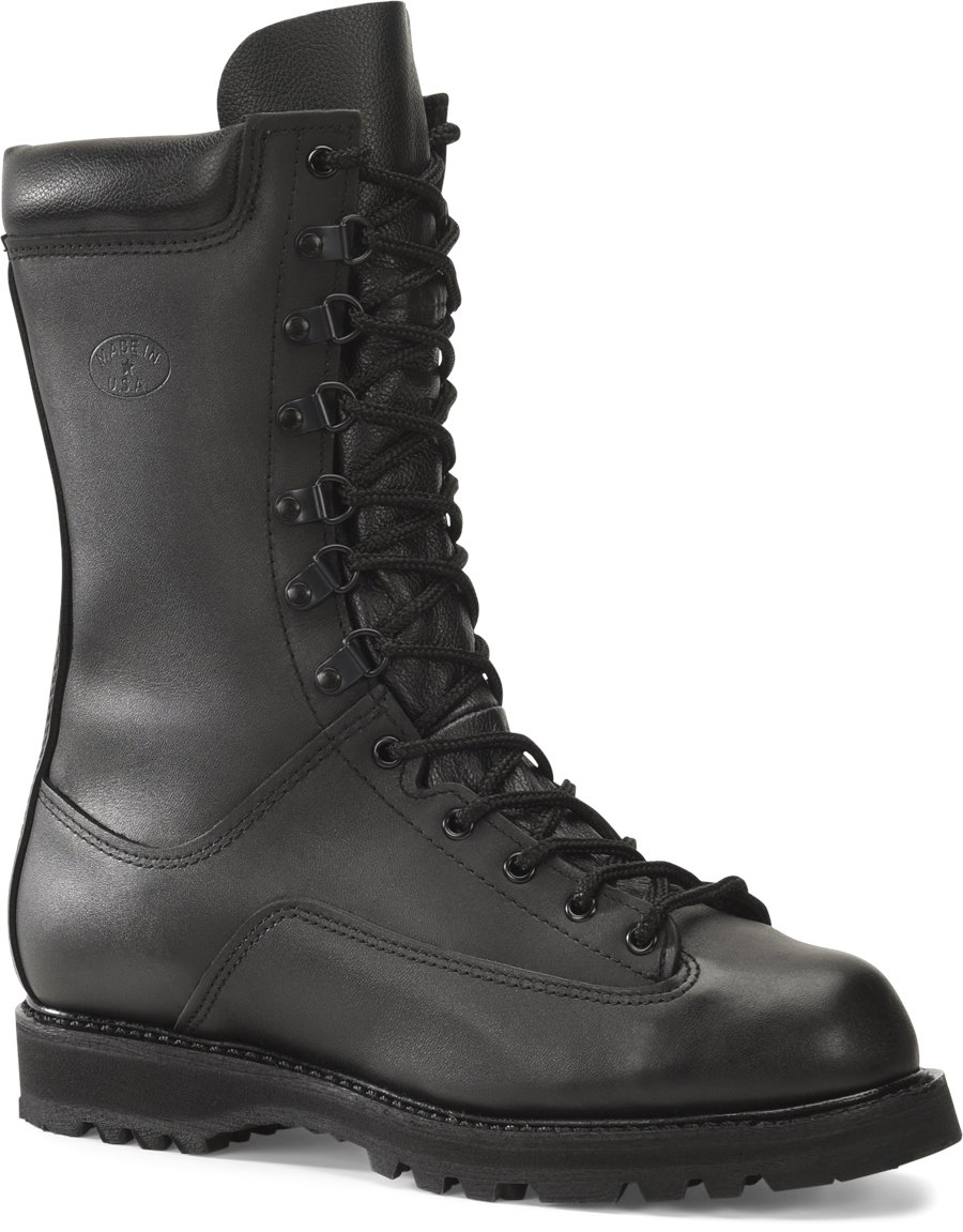 Corcoran 10 Inch Waterproof All Leather Field Boot : Black - Mens