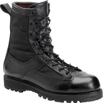 Black Corcoran 8 Inch Waterproof Leather Combat Boot