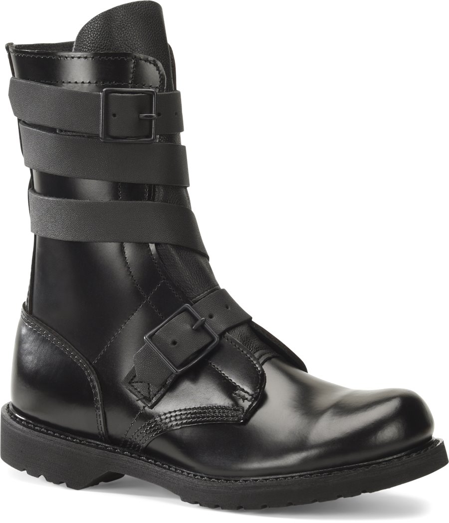 Corcoran 10 Inch Tanker Boot : Black - Mens