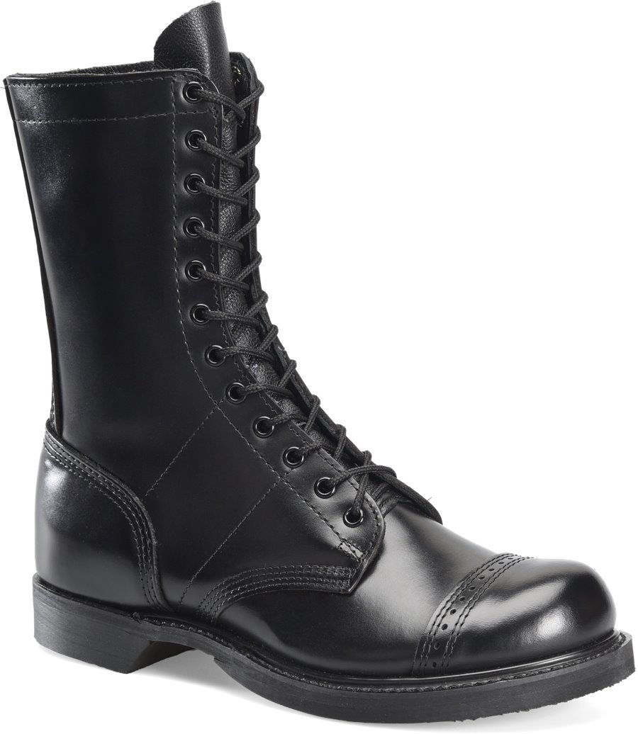 Corcoran 10 Inch Jump Boot : Black - Mens