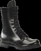 """Men's 10"""" Plain Toe Boot - Black"""