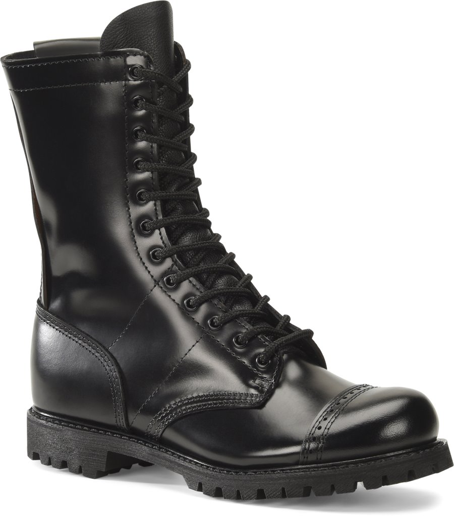 Corcoran 10 inch Side Zipper Field Boot : Black - Mens