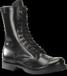 "Men's 10"" Side Zipper Jump Boot - Black"