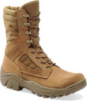 Desert Tan Corcoran 8 Inch Hot Weather Broad Toe Combat Boot