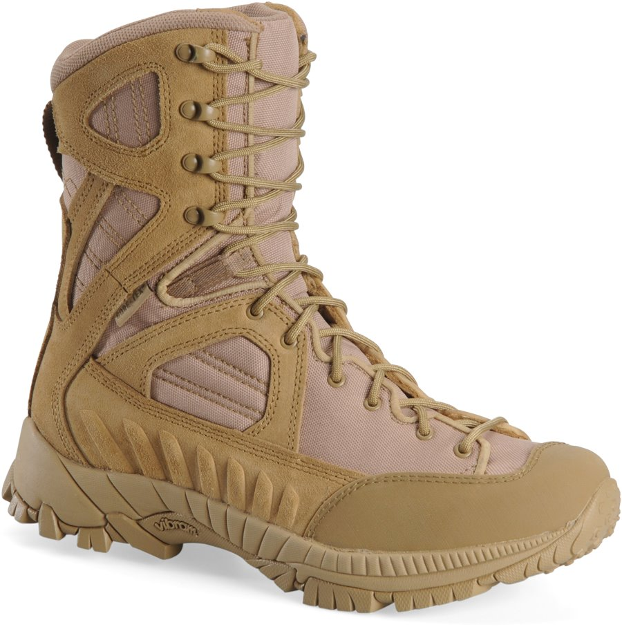 Corcoran 8 Inch Lace to Toe Waterproof Hiker : Desert Tan - Mens
