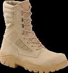 """Men's 8"""" Hot Weather Broad Toe Combat Boot - Desert Tan"""