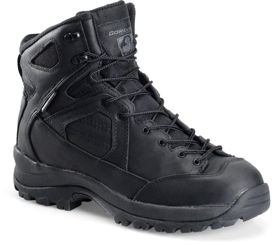 Corcoran 6 Inch Lace To Toe WP Hiker : Black - Mens
