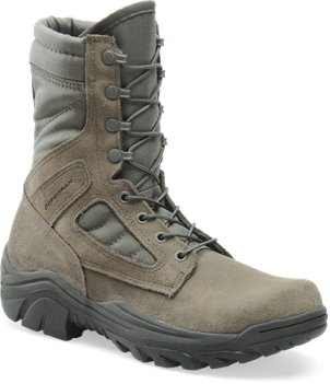 Sage Green Corcoran 8 Inch Hot Weather Broad Toe Combat Boot