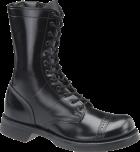 "Men's 10"" Side Zipper Jump Boot with Lightweight Outsole - Black"
