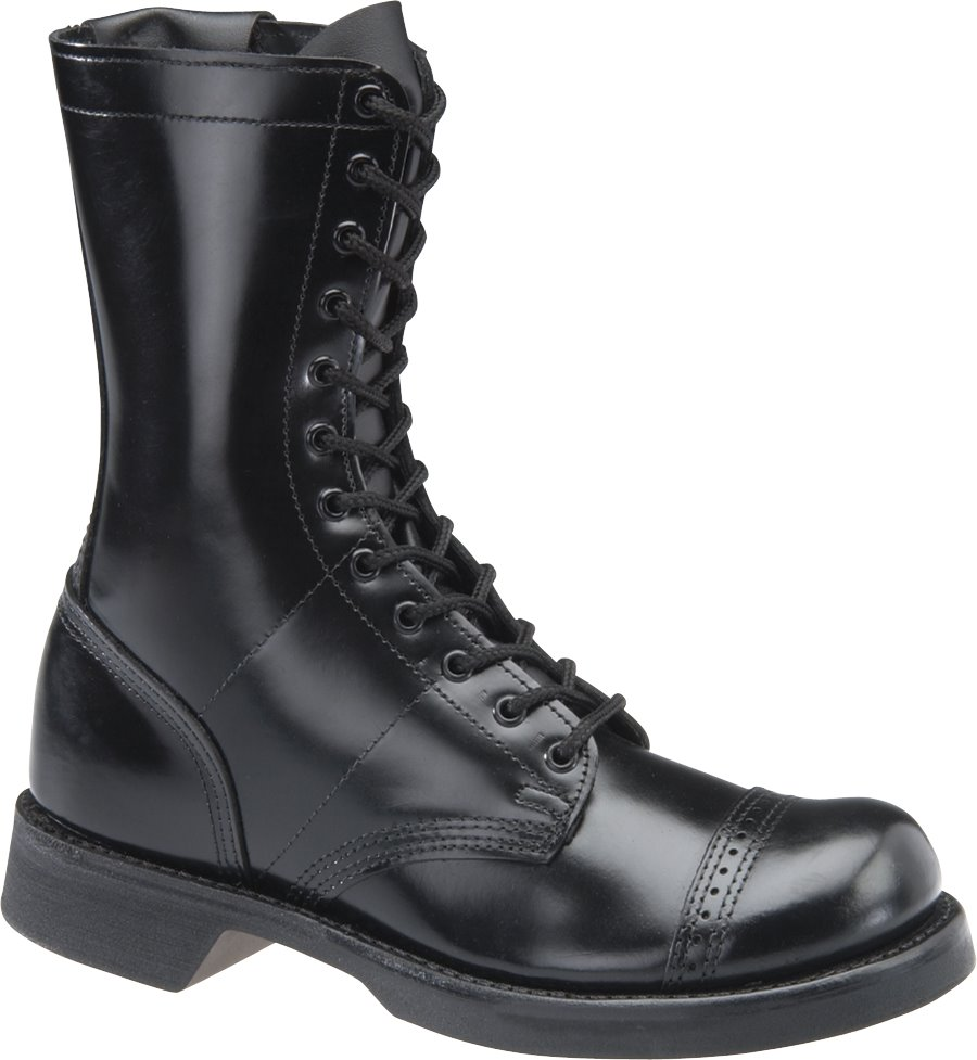 Corcoran 10 Inch Side Zipper Jump Boot : Black - Mens
