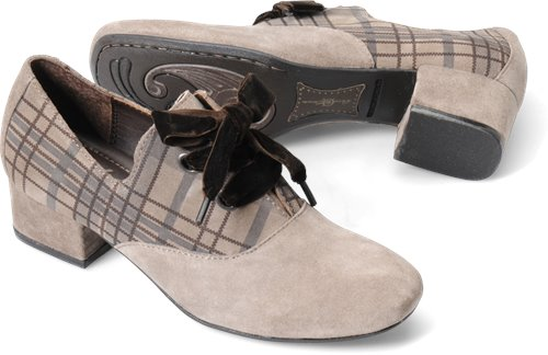 Sasso Plaid Suede Born Crown Kaster