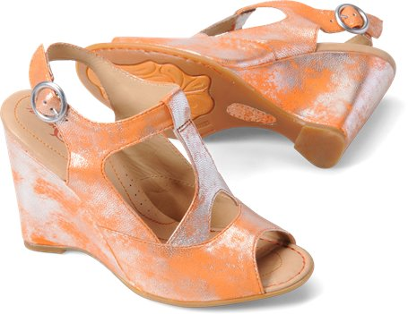 Arancio Metallic Born Crown Caity