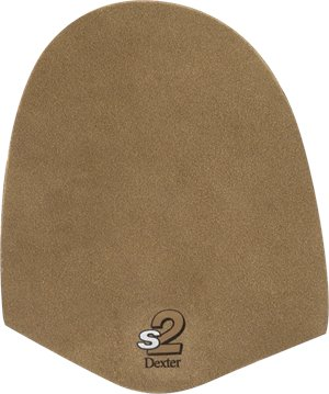 Brown Microfiber Dexter Accessories s2 Slide Pad