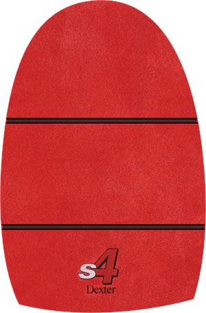 Red Leather Pad Dexter Accessories THE 9-Slide 4