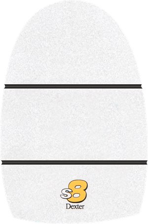 White Microfiber Pad Dexter Accessories THE 9-Slide 8