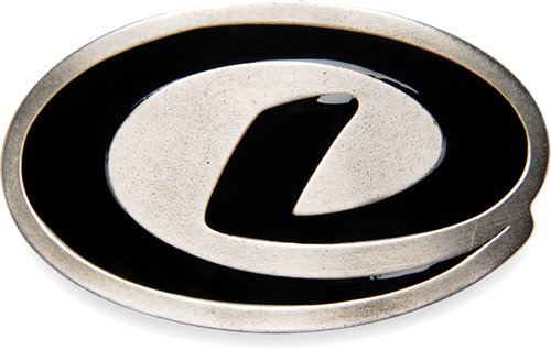 Silver Black Dexter Accessories Dexter Belt Buckle