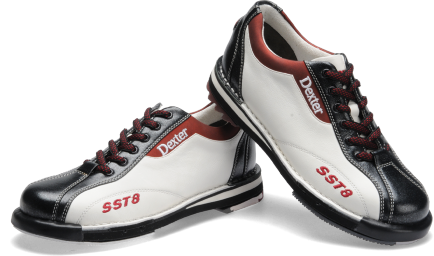 Sst 8 Le White Black Red Dexter Womens Bowling