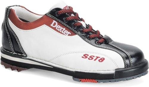 White/Black/Red Dexter Bowling SST 8 LE