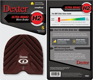 Maroon Dexter Accessories H2 Heel