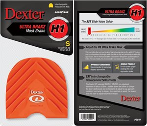 Orange Small Dexter Accessories H1 Ultra Brakz- Small