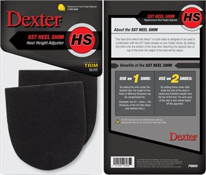 Black Dexter Accessories Heel Shim