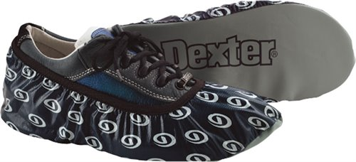 Navy Dexter Accessories DryDex Bowling Shoe Covers - Medium