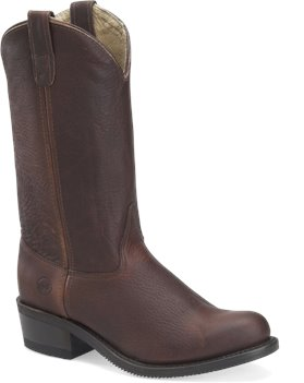 Walnut Double H Boot 12 Inch Work Western
