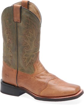 Cogac/Olive Double H Boot 11 Inch Wide Square Toe Roper