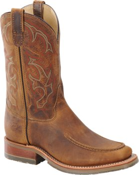 Old Town Folklore Double H Boot Domestic Wide Square Toe Roper