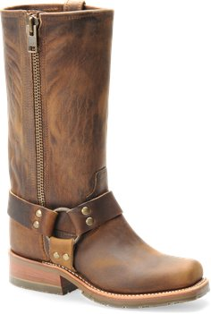 Brown Double H Boot 11 Inch ICE™ Harness Boot with Zipper