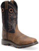Double H Boot 12 Inch Workflex Wide Square Comp Toe Roper