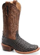 Double H Boot 13 Inch Cattle Baron Wide Square Toe Western