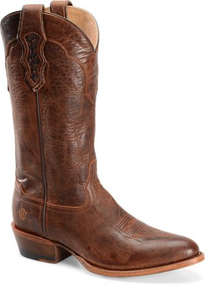Brown Double H Boot 13 Inch Cattle Baron R Toe