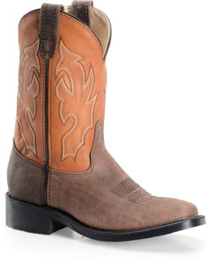 Cognac  Double H Boot 11 Inch Wide Square Toe Roper