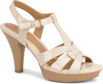 Eurosoft Shoes Galina Ivory / Black