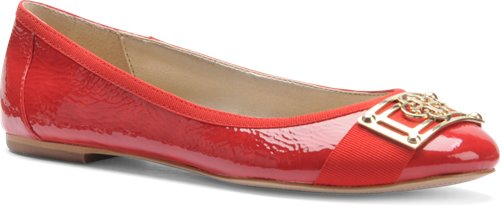 Cherry Red Patent Isola Britt II