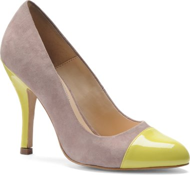Blush Suede Mellow Yellow Patent Isola Aira