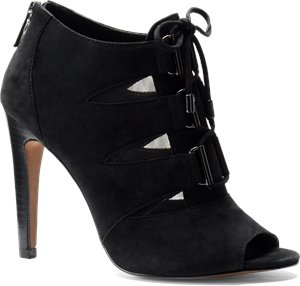 Black Suede Isola Brinly