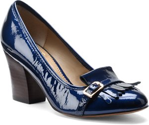 Ink Blue Patent Isola Tara