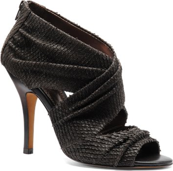 Carbon Brown Snake Print Isola Balta
