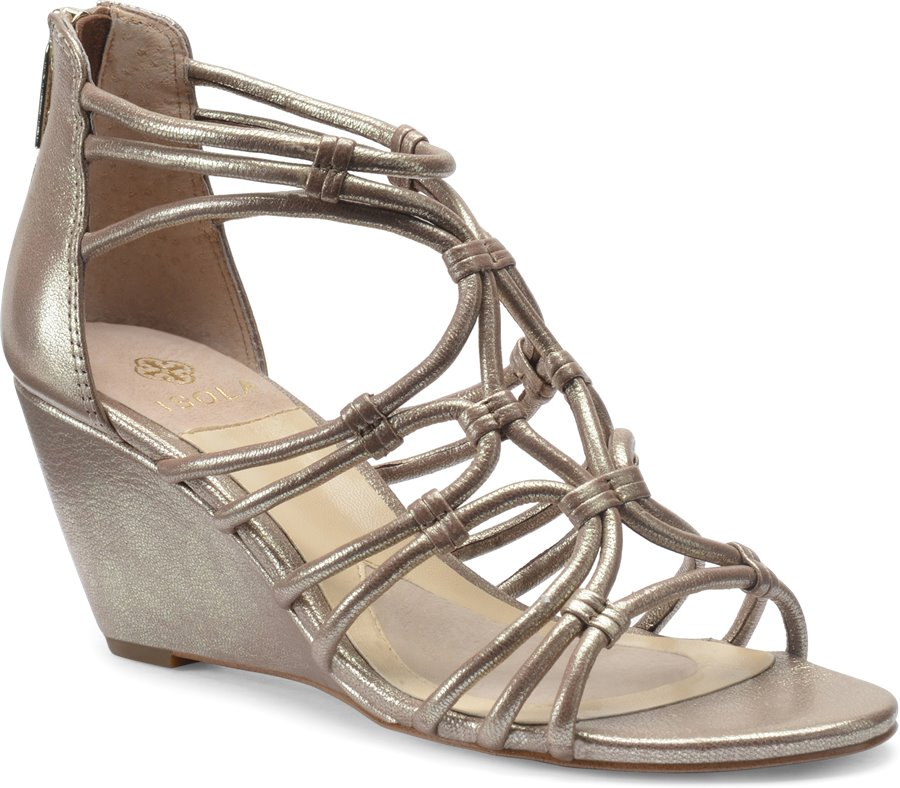 Isola Floral : Satin Gold - Womens
