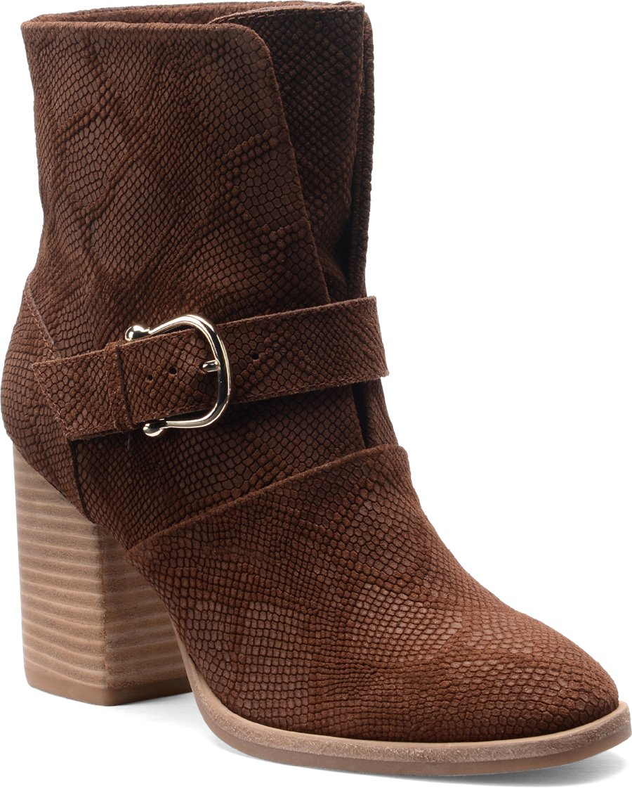 Isola Lavoy : Cocoa Suede - Womens