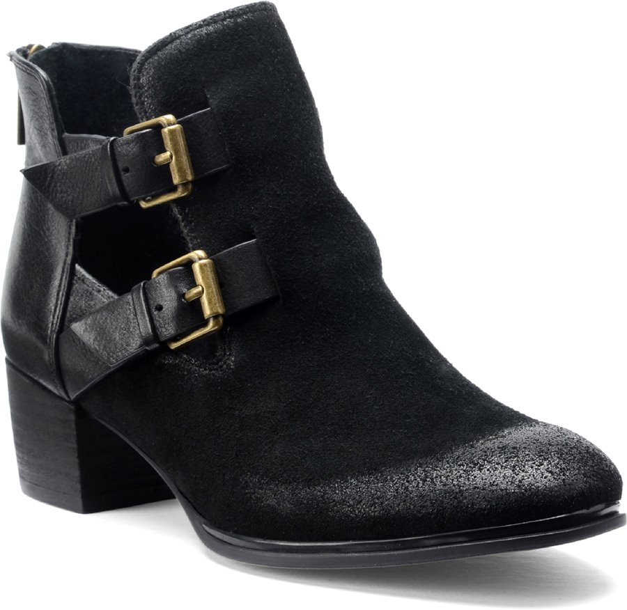 Isola Darnell : Black Suede - Womens