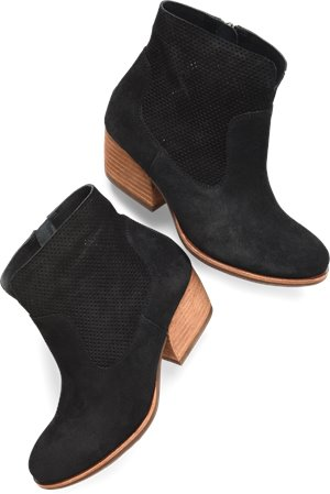 Black Suede Korkease Sherrill