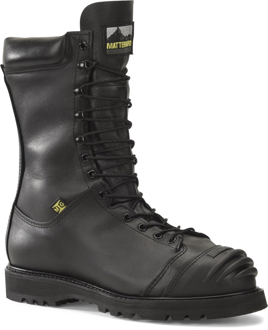 Matterhorn 10 Inch Waterproof Mining Boot : Black - Mens